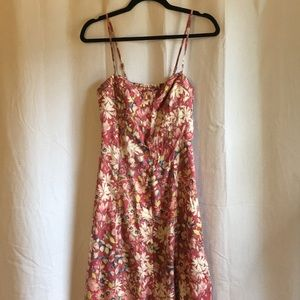 NWT Lauren Conrad Flower Hi-Lo Dress